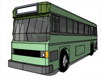 Camion Bus in SketchUp