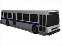 City Bus in SketchUp