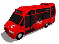 Community Bus in SketchUp