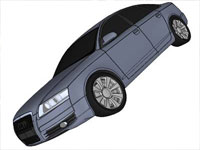 2006 Audi A6 in Sketchup