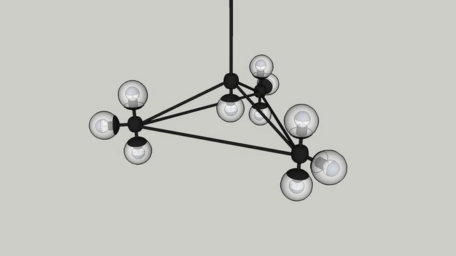 Roll and Hill Modo Chandelier