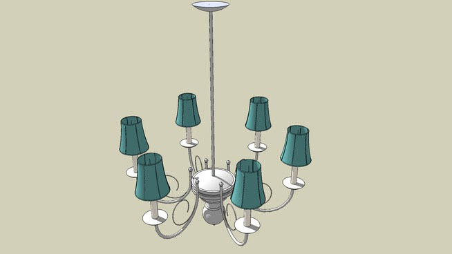 6 pieces Chandelier
