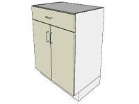 SketchUp Components 3D Warehouse - DC Cabinet