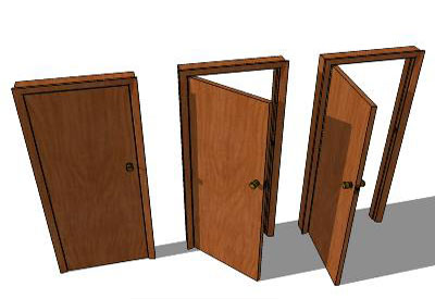 Sketchup components 3d warehouse door doors for Outdoor furniture 3d warehouse