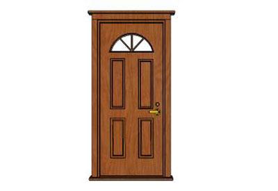 Sketchup components 3d warehouse classic front door for Door 3d warehouse