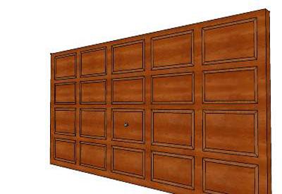 Garage Door  sc 1 st  Sketchup 4 architect & sketchup components 3d warehouse Door: Garage Door