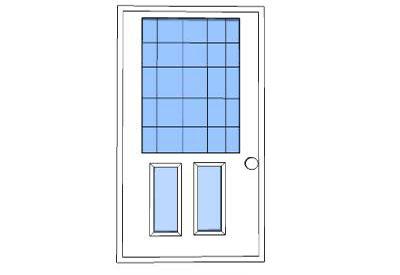 Sketchup components 3d warehouse door normal door for Door 3d warehouse