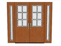 Entry Doors in SketchUp