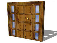 SketchUp Entry Door