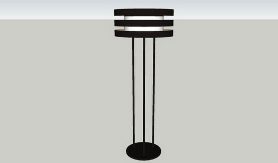 Giorgetti Planet Floor Lamp