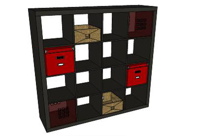 Sketchup components 3d warehouse furniture bookcase ikea for Outdoor furniture 3d warehouse