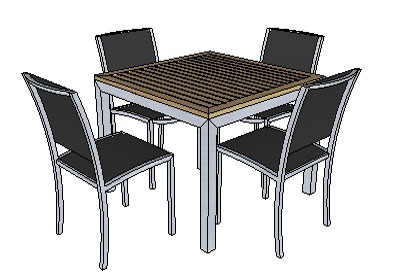 Google Sketchup Patio Furniture