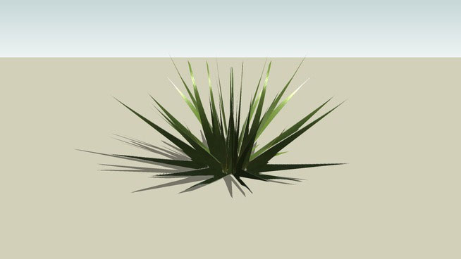 3D Low-Poly Grass