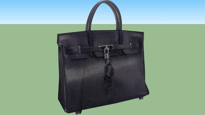 Sketchup Components 3d Warehouse Hermes Birkin Hand Bag