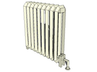 3D Radiator in sketchup