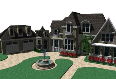 Sketchup Components 3d Warehouse Home American Dream Home 3