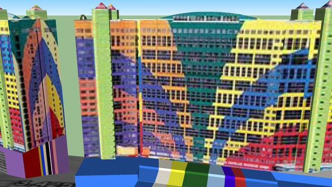sketchup  ponents 3d warehouse hotel genting highlands first world