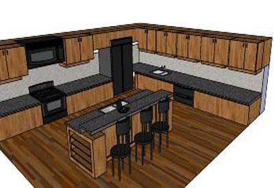 Sketchup Ponents Warehouse Kitchen