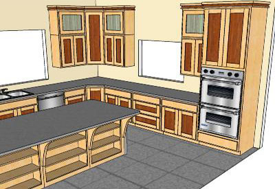 Classic Kitchen In Sketchup Download Google Sketchup 6