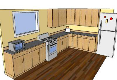 Sketchup Components 3d Warehouse Kitchen Sketchup Kitchen