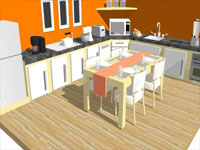 Basic Kitchen in SketchUp