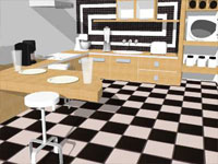 Check Kitchen in SketchUp