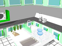 Cuisine Kitchen in SketchUp