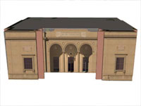 Clements Library in Sketchup