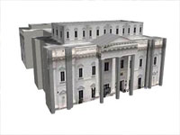 Lawrance Library in Sketchup