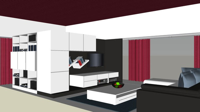Sketchup Components 3d Warehouse Living Room Living Room