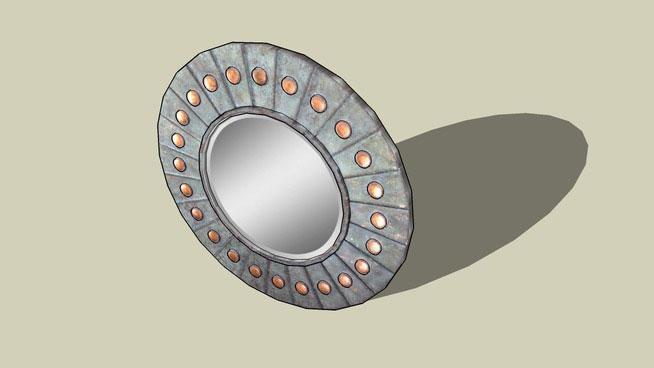 Sketchup components 3d warehouse mirror round mirror for Mirror in sketchup