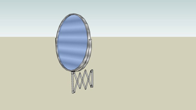 Sketchup components 3d warehouse mirror bathroom makeup for Mirror in sketchup