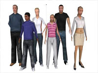 SketchUp 3D Warehouse - People