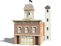 Fire Station Museum in Iowa