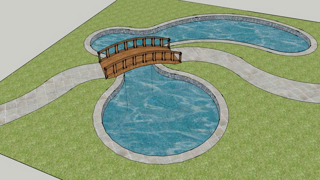 sketchup components 3d warehouse pool swimming pool