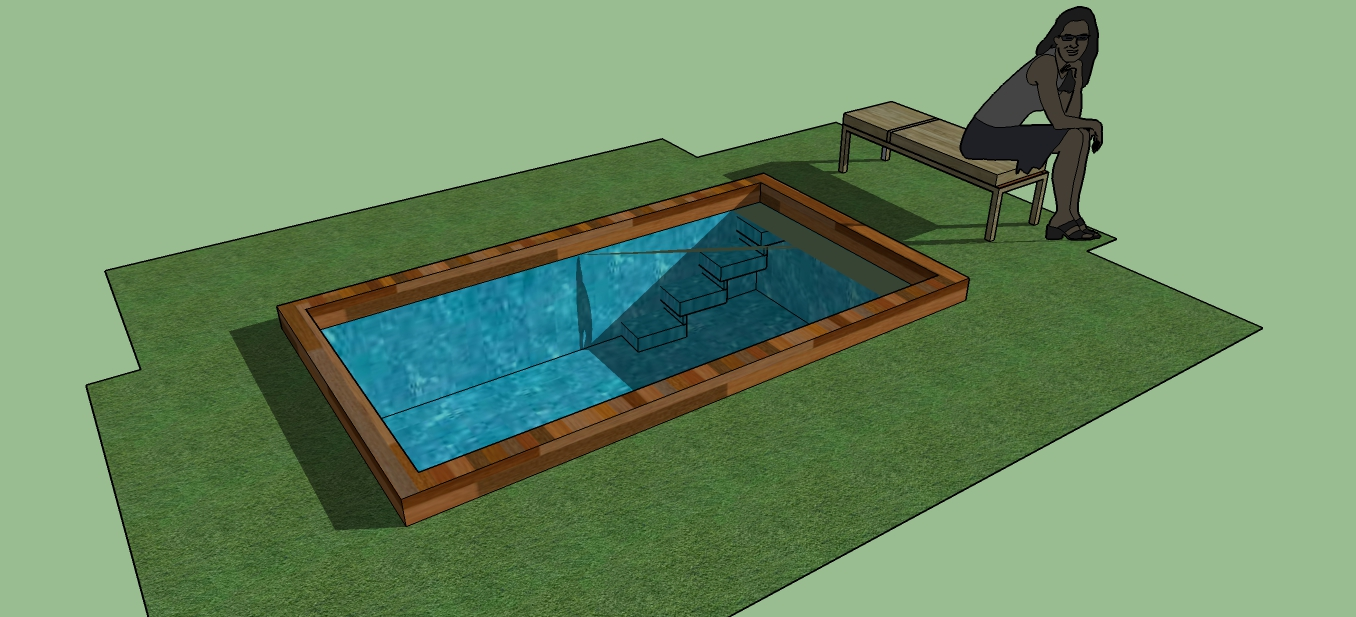 Sketchup components 3d warehouse swimming pool for Outdoor furniture 3d warehouse