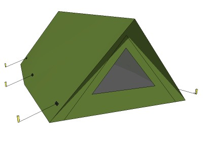 Old style tent  sc 1 st  Sketchup4architect.com & sketchup components 3d warehouse Landscape Architecture Recreation ...