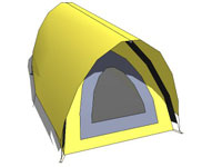 Dome fly tent