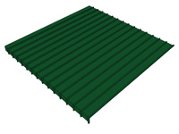 3D Standing Seam Roofing 16 inch