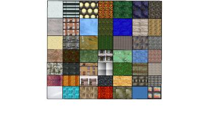 texture on the internet sketchup material