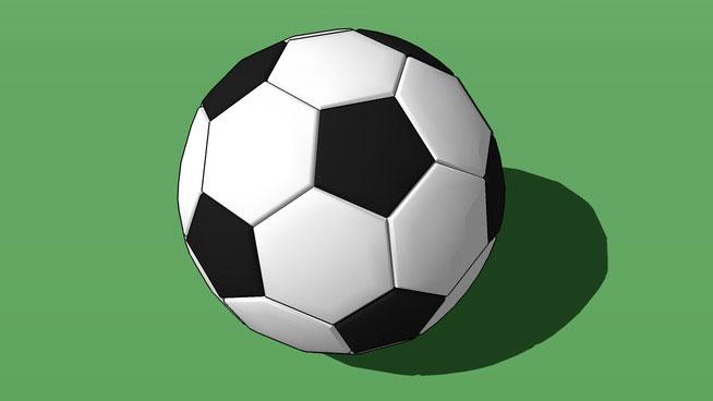 Soccer ball model design in sketchup free 3d soccer ball - Ball image download ...
