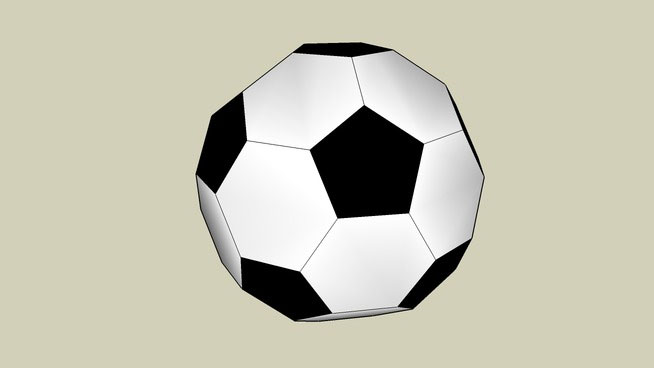 Scale soccer ball
