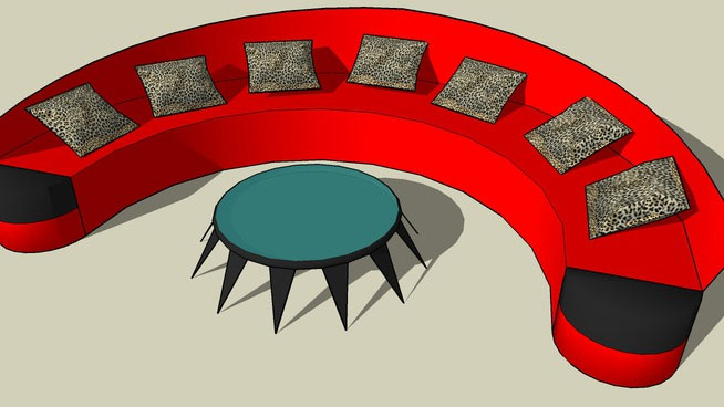 Sketchup components 3d warehouse sofa 3d sofa component for Outdoor furniture 3d warehouse