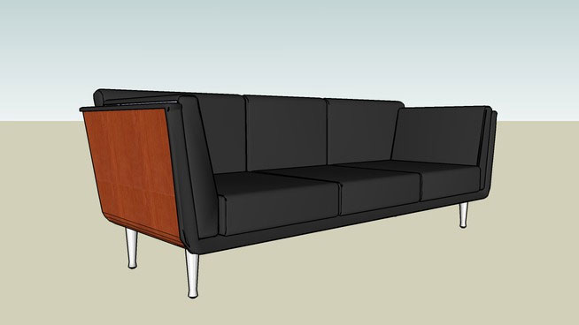 Free Download Sketchup Components 3d Warehouse Sofa