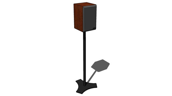 Speaker on a stand