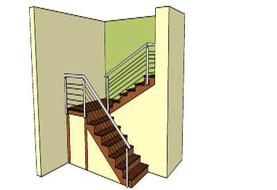 Sketchup components 3d warehouse stairs inner stairs for Outdoor furniture 3d warehouse