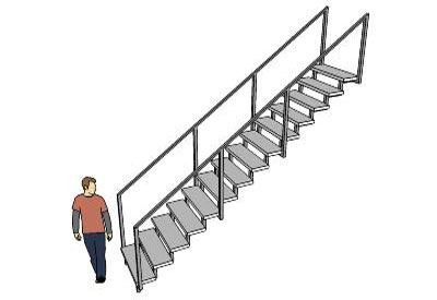 3D Stairs Free Download | 3D Models of Stairs | Sketchup