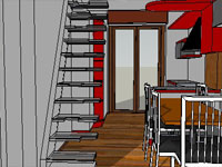 Planning Stairs in SketchUp