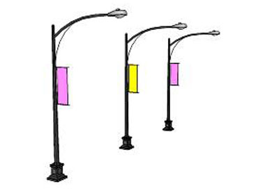 Sketchup components 3d warehouse streetlight decorative for Outdoor furniture 3d warehouse