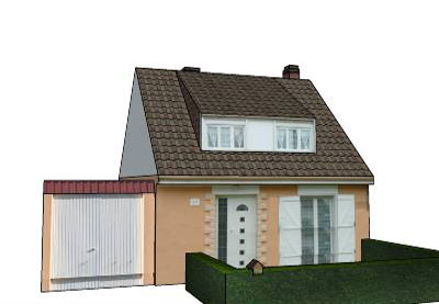 Sketchup components 3d warehouse super modelers maison for Modele maison sketchup